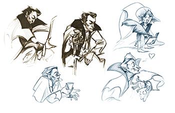 Drawing Club Dracula